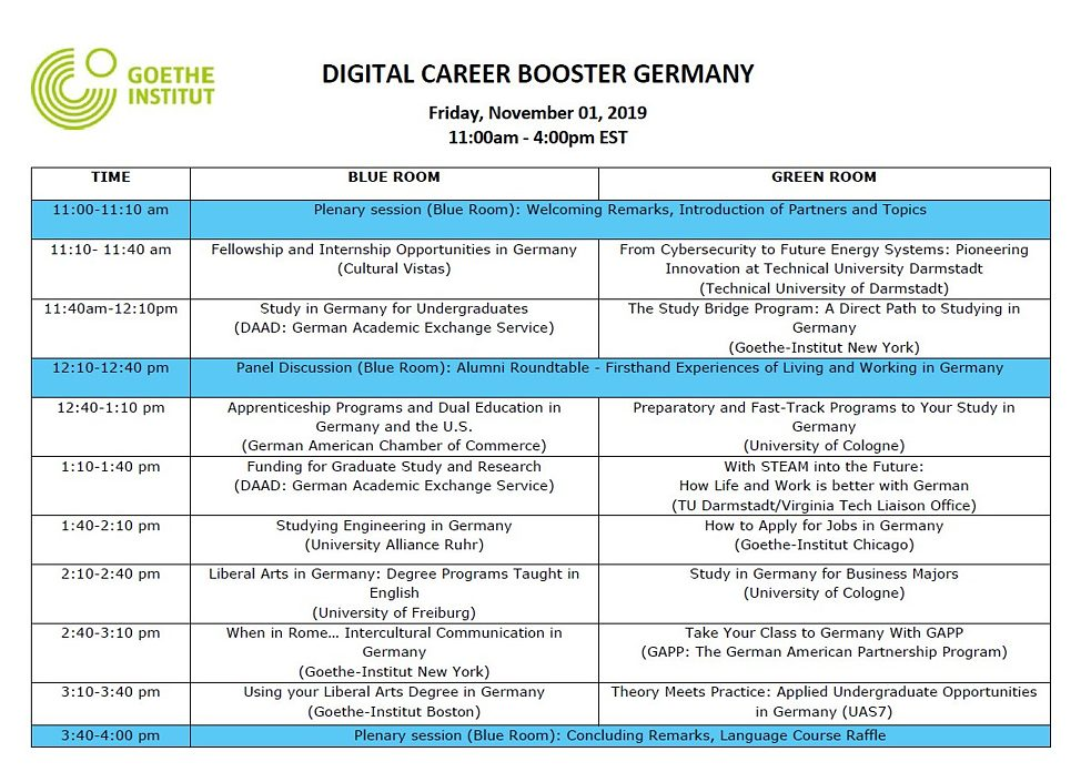 Virtual career day program