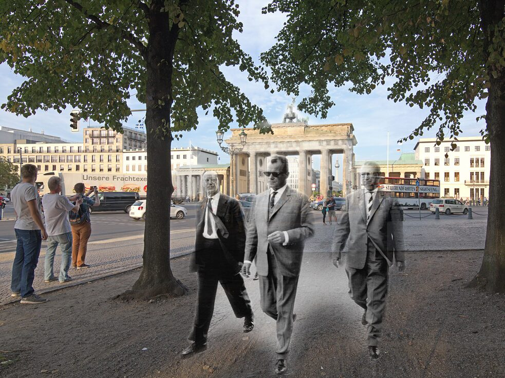 The Brandenburg Gate 1961/2015, Montage