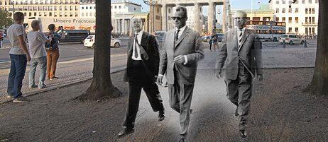 Das Brandenburger Tor 1961/2015, Montage