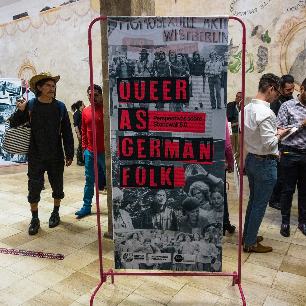 "Ausstellung ""Queer as German Folk"" in Mexiko-Stadt"