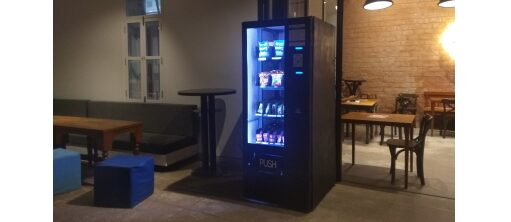 KAIROI: time-sensitive vending machine © Sonam Chaturvedi