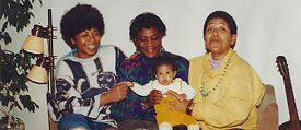 Marion Kraft with Gloria Joseph and Audre Lorde