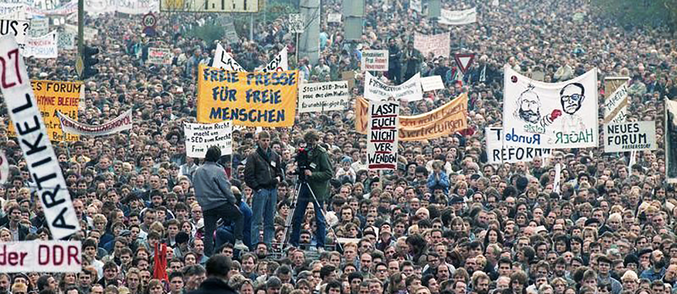 Berlin, Demonstration am 4. November 1989