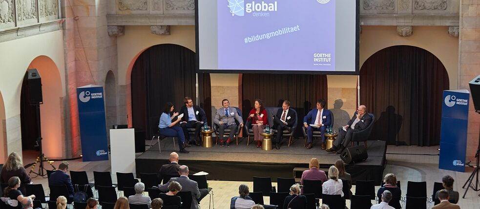 Experts on stage at Berlin's Hotel Oderberger
