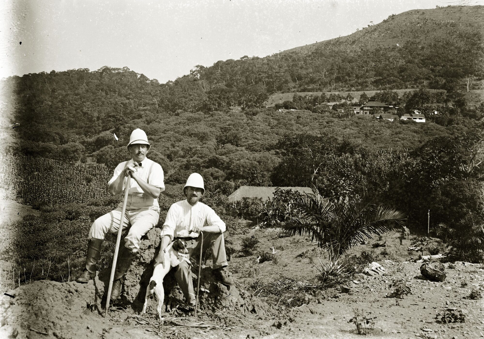 German colonial officials in Togo