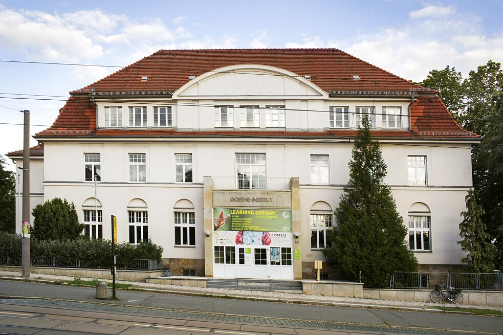 The seminar for accompanying teachers will be held at the Goethe-Institut Dresden.