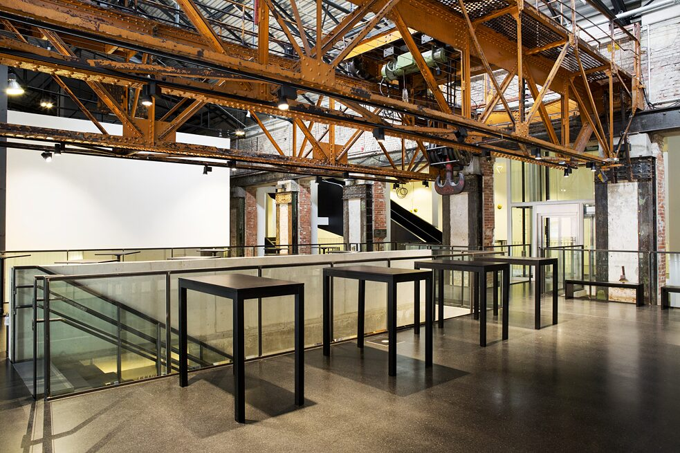 IDO 2020 events will be held at Kraftwerk Mitte (view of interior).