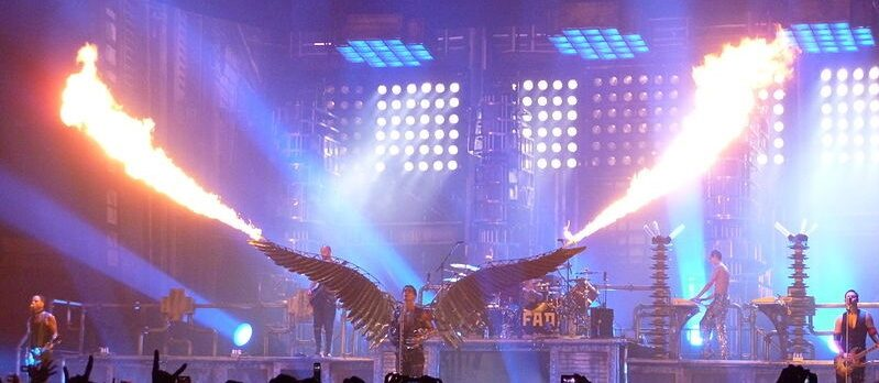 Rammstein. Engel live from New York