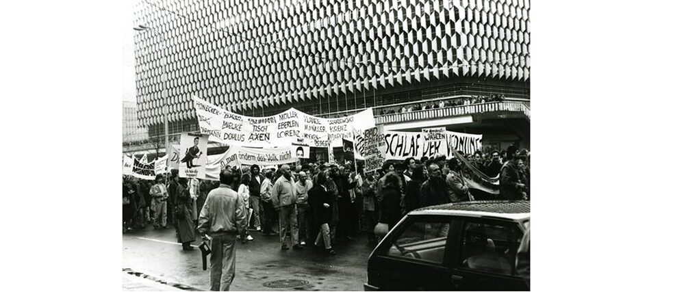 Alexanderplatz Demonstration, Berlin, November 4, 1989