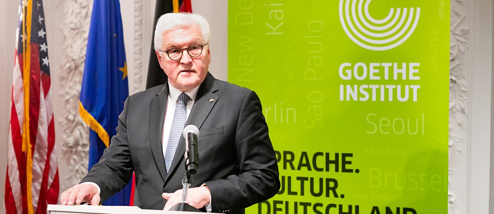 Federal President Frank-Walter Steinmeier in Boston