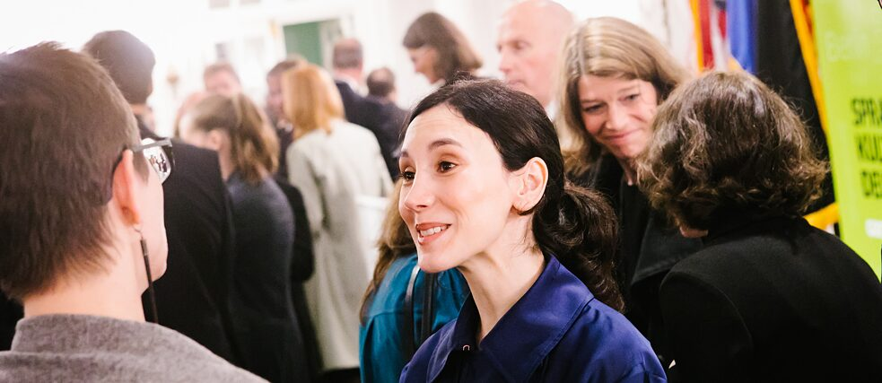 Actor Sibel Kekilli in Boston