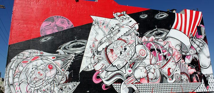 #artbits - Steetart by How and Nosm in Los Angeles