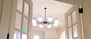 Chandelier Goethe-Institut Boston by FLOS