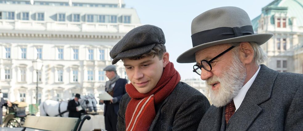 "Simon Morze and Bruno Ganz in ""The Tobacconist"""