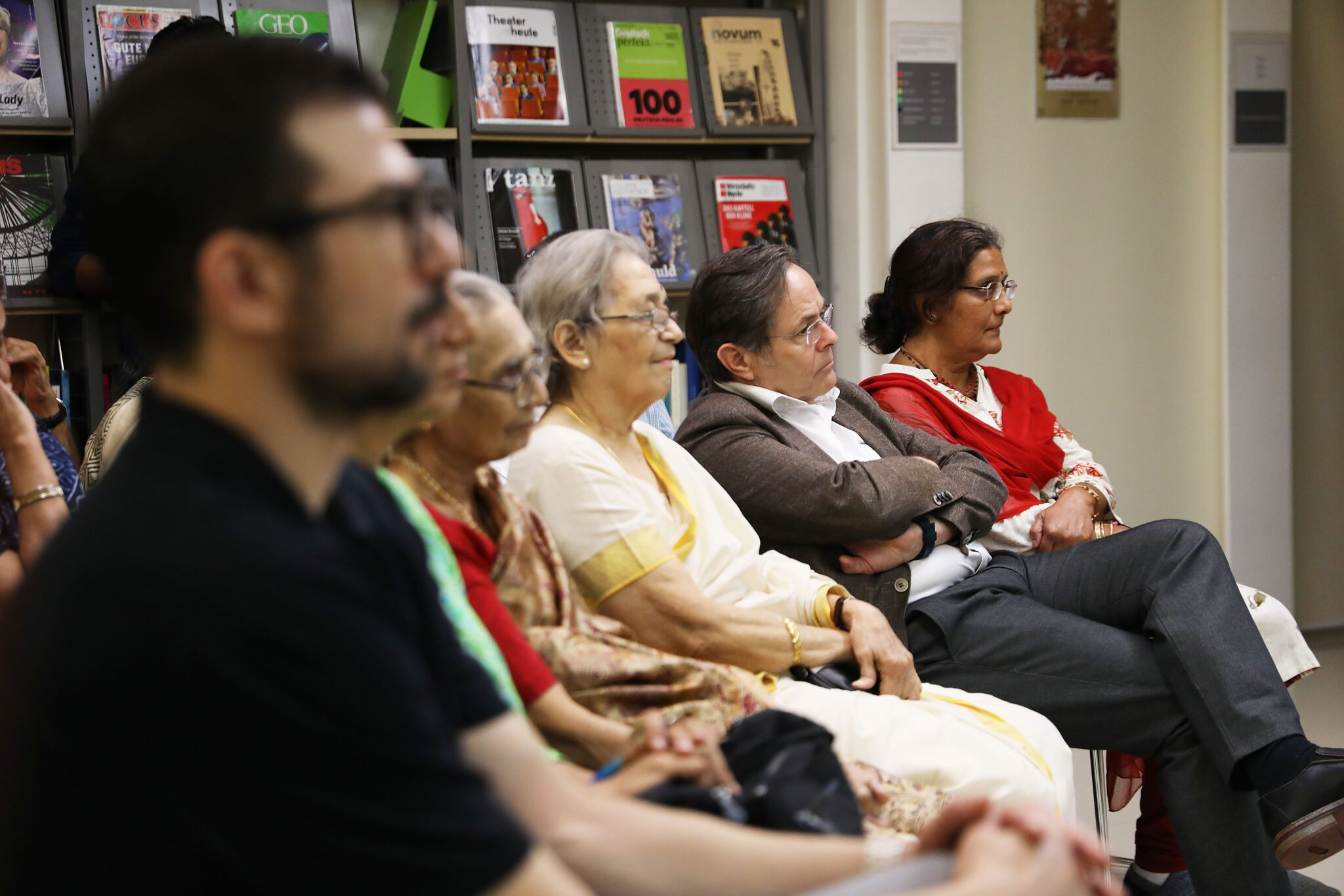 Audience book launch
