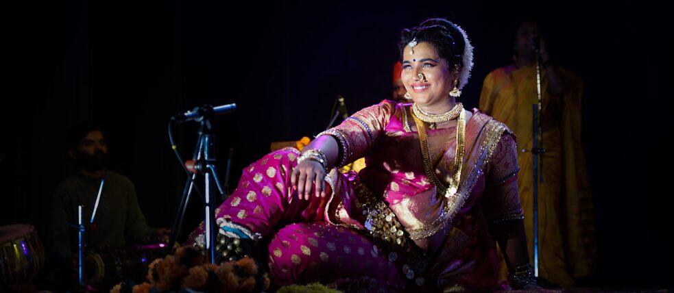 "Performance ""An Evening of Lavani"" mit Akanksha Kadam 