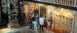The District Six Museum in Cape Town, which documents the history of the District Six district. The museum is housed in a former Methodist church that was a meeting place for apartheid opponents in the 1980s.