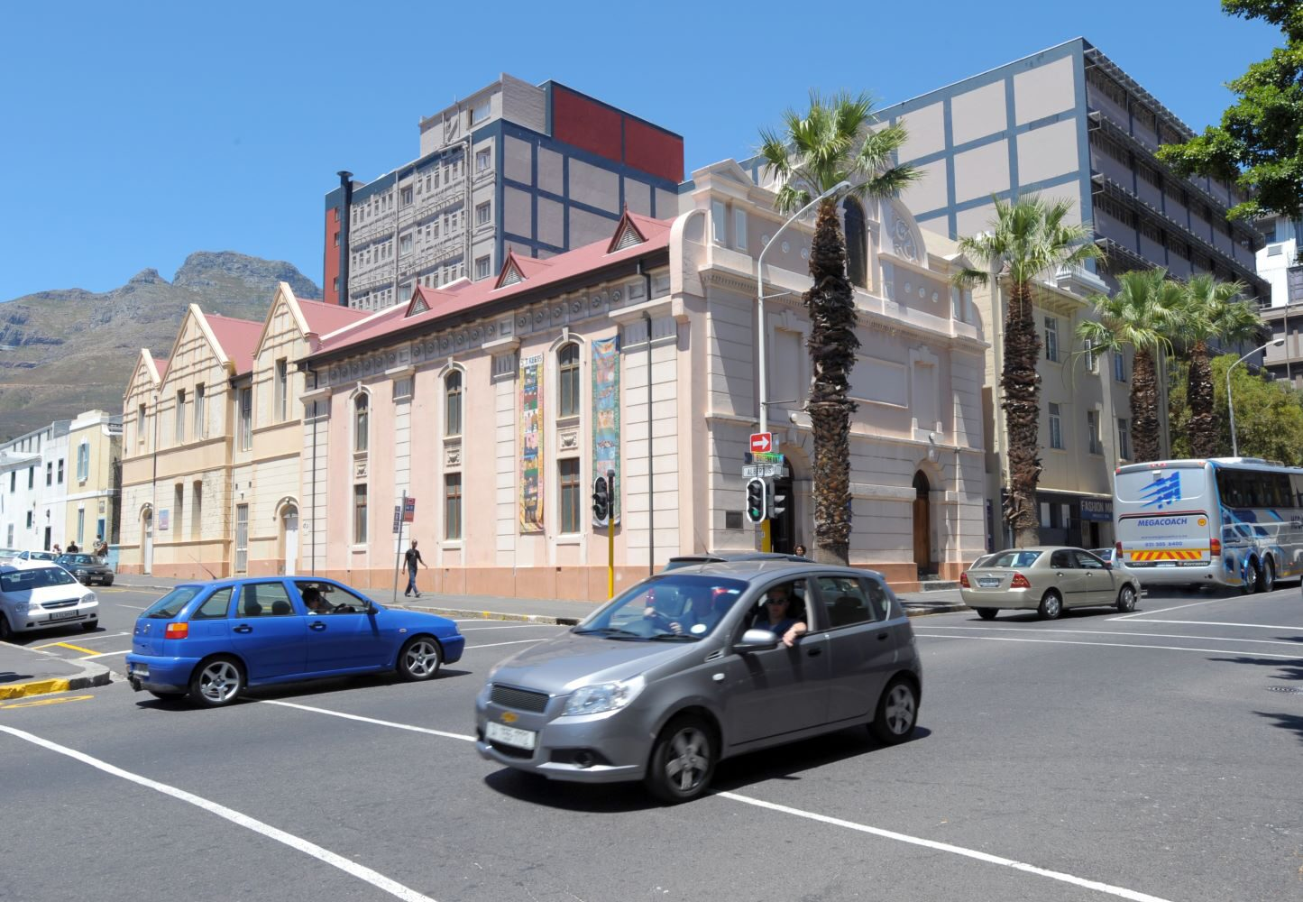 A view of the District Six Museum in Cape Town in 2011