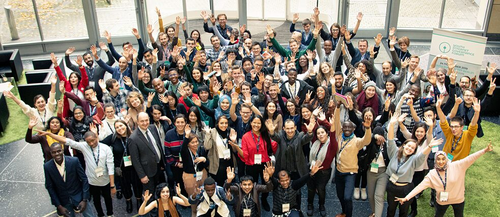 Around 100 young people from 40 countries gathered in Berlin .