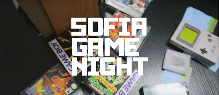 Sofia Game Night Aftermovie 2019