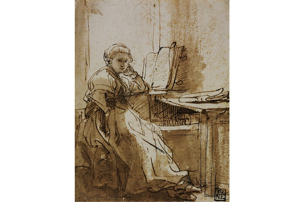 "Some of Rembrandt's etchings will also be on display including ""Saskia Sitting by a Window"", on loan from the Museum of Fine Arts Budapest."