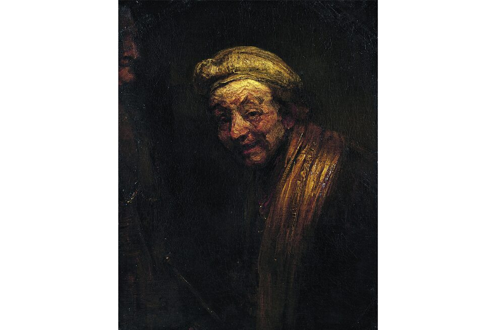 "The Wallraf-Richartz Museum also owns an important Rembrandt painting, ""Self-Portrait as Zeuxis""."