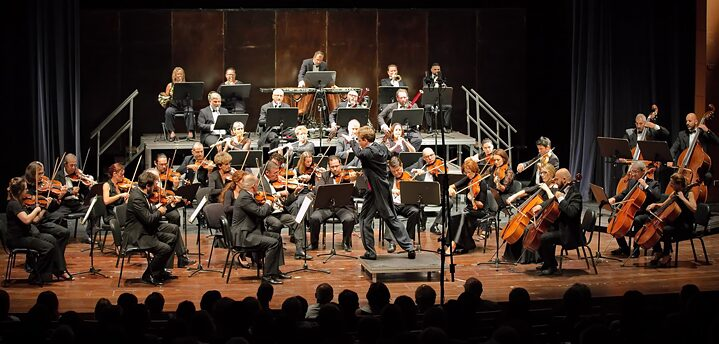 The Cyprus Symphony Orchestra led by German conductor Jens Georg Bachmann
