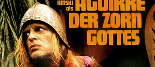 "Cinema poster from 1972 for the film ""Aguirre, the Wrath of God"" with Klaus Kinski in the leading role"