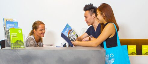 Goethe-Institut Singapur - Contact and Enrolment