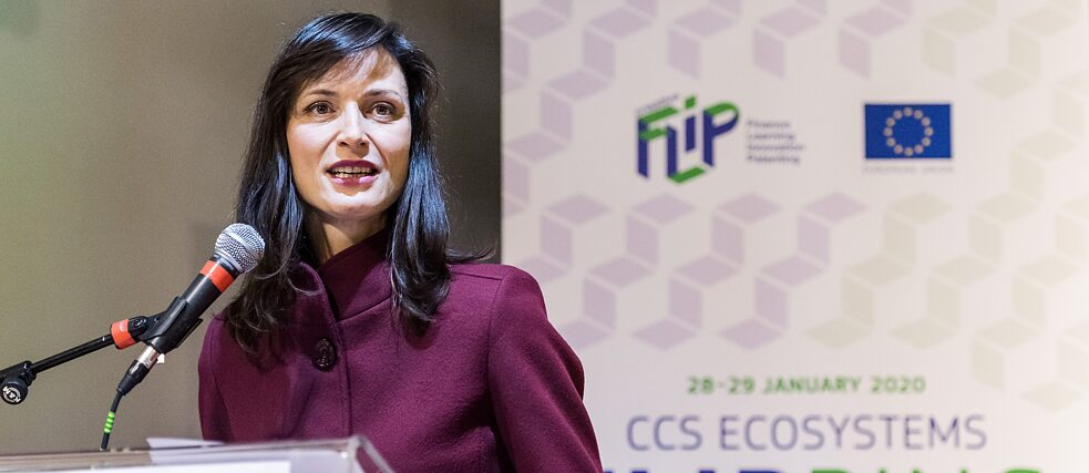 """To truly support creators we need to build bridges, feed each other's creativity – learn from each other."" Mariya Gabriel, EU Commissioner for Innovation, Research, Culture, Education and Youth."