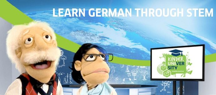 Learn German through STEM
