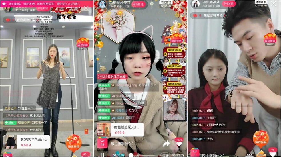 Livestreaming auf Taobao läuft rund um die Uhr