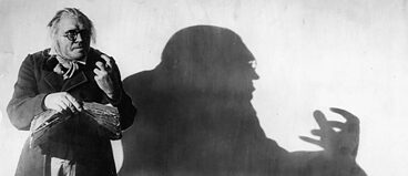 Werner Krauss acts in The Cabinet of Dr Caligari