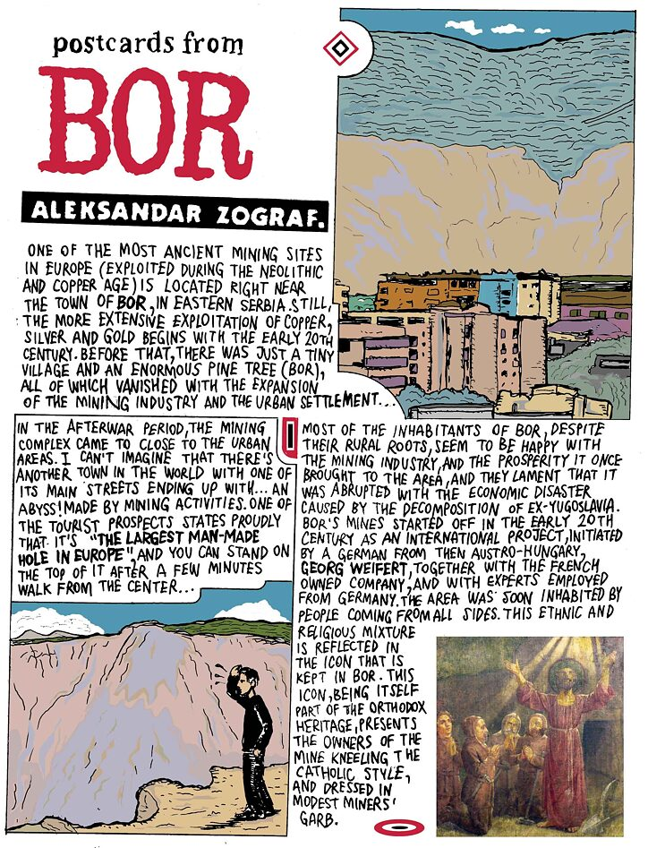 Postcards from Bor