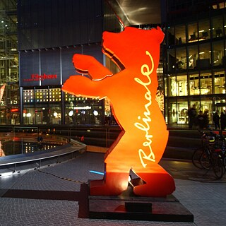 Der Berlinale-Bär im Sony-Center am Potsdamer Platz