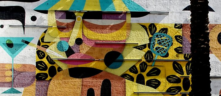 Las Vegas Mural: Hunter S. Thompson de Ruben Sanchez