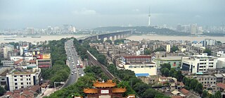 Wuhan from Yellow Crane Tower