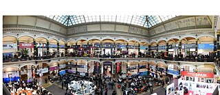 Martin-Gropius-Bau: A view into the atrium of the European Film Market´s home