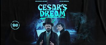 Promotional poster for Cesar's Dream movie at Berlinale