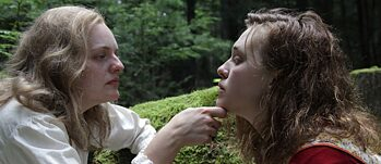 "Elisabeth Moss and Odessa Young in ""Shirley"""