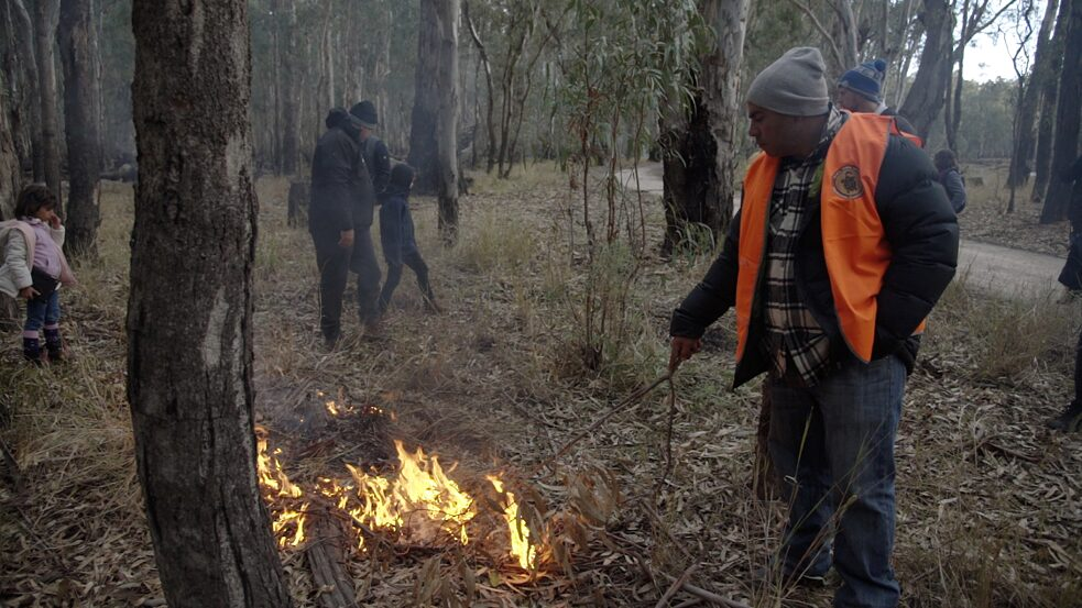 National indigenous fire workshop in Dhungala 2019, hosted by the Yorta Yorta indigenous people