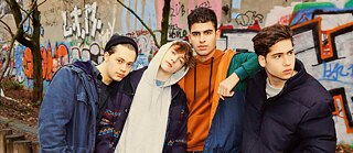 "The actors in the ""Druck"" young adult series share some similarities with their characters, and many are armatures."