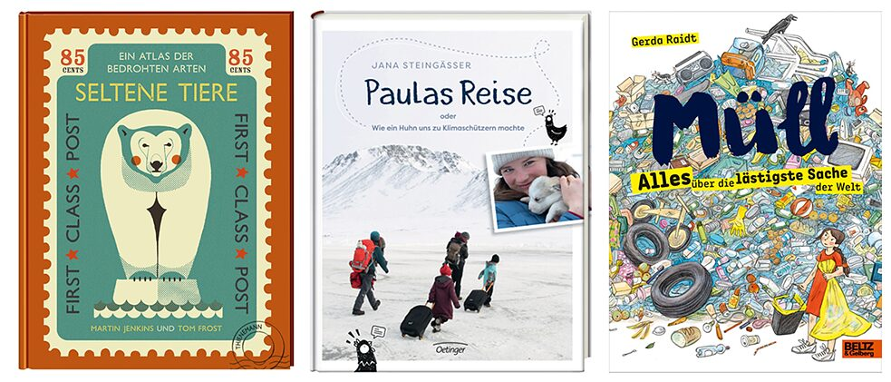 The environment and climate protection are important to children and young readers – this is preva-lent in both narrative literature as well as in non-fiction books