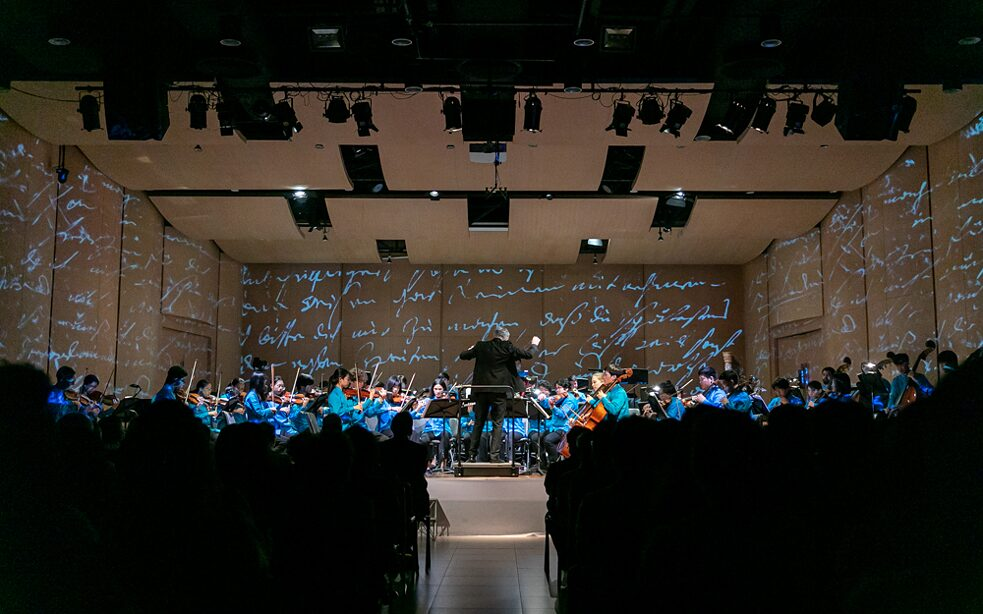 Music of Enlightenment: a Thai and a German Youth Orchestra celebrate 250 years of Beethoven and 60 years of Goethe-Institut Thailand with a multimedia performance