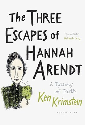 """The Three Escapes of Hannah Arendt"" von Ken Krimstein"