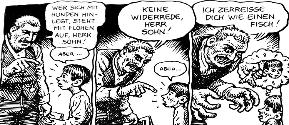 """Kafka"" by David Zane Mairowitz & Robert Crumb"