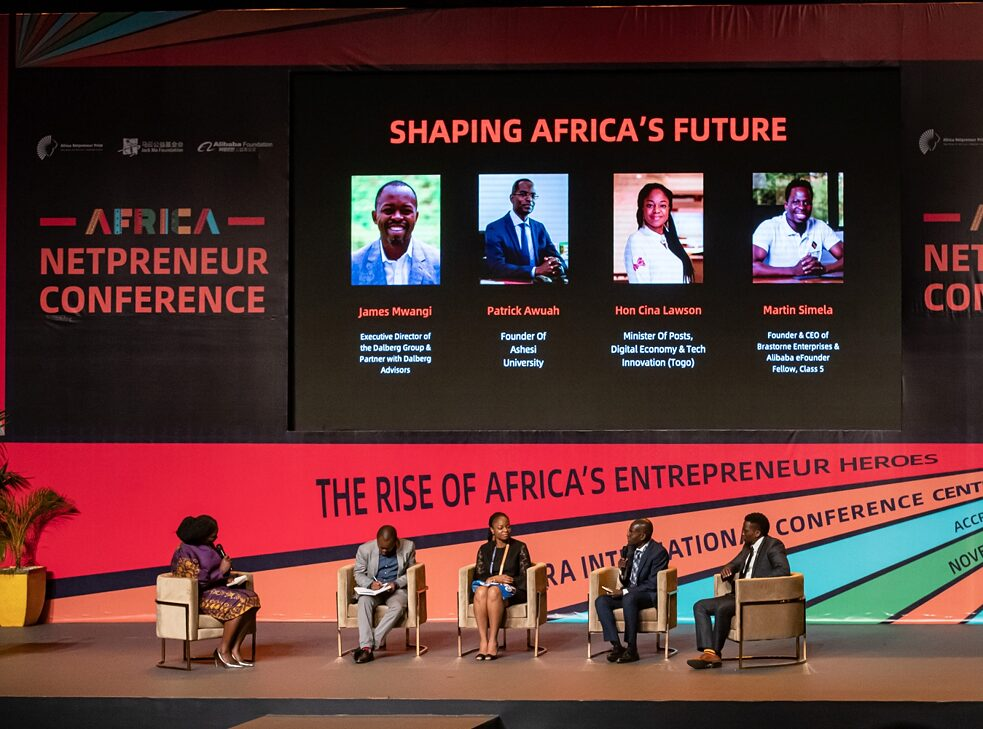 Global South: The Africa Netpreneur Prize in Accra, capital of Ghana, on Nov. 16, 2019. The Jack Ma Foundation of Jack Ma, founder of China's Internet giant Alibaba gave a total cash prize of one million dollars to support the enterprises of 10 young African entrepreneurs, the winners out of more than 10,000 participants.
