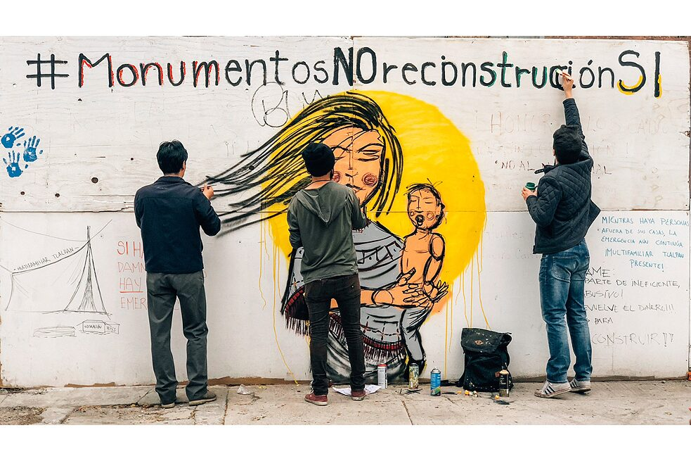Our Memorial 19s, a 5 month-long campaign to stop the construction of a monument which sponsored forgetting and impunity in the wake of the 2017 Mexico earthquakes.