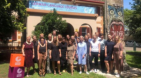 group picture Goethe-Institut Australien