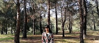 Picture of Pavlina Marvin in the forest